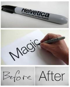Gary Hustwit stylo Helvetica