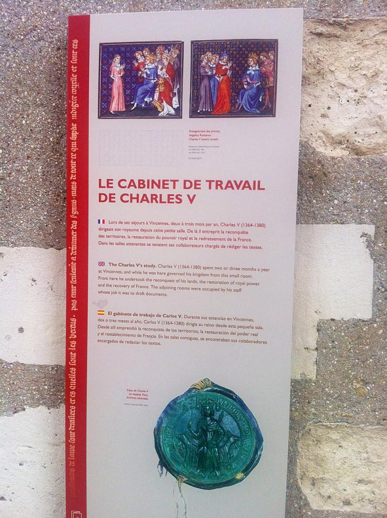 Château de Vincennes - Réalité augmentée - Description - région parisienne