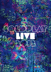 Coldplay Live 2012 - Cover DVD