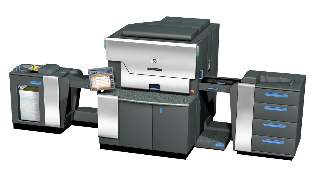 HP Indigo 7500 per la stampa digitale