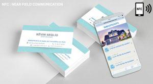 Carte de visite NFC